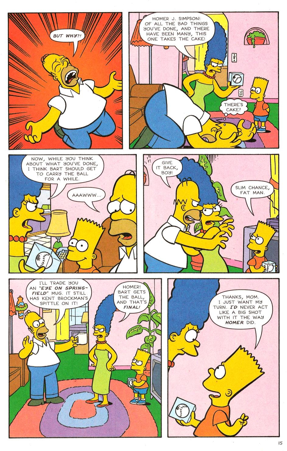 Read online Simpsons Comics comic -  Issue #120 - 12