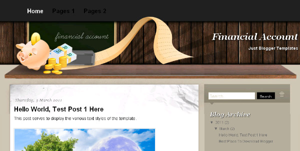 Best Money Blogger Templates