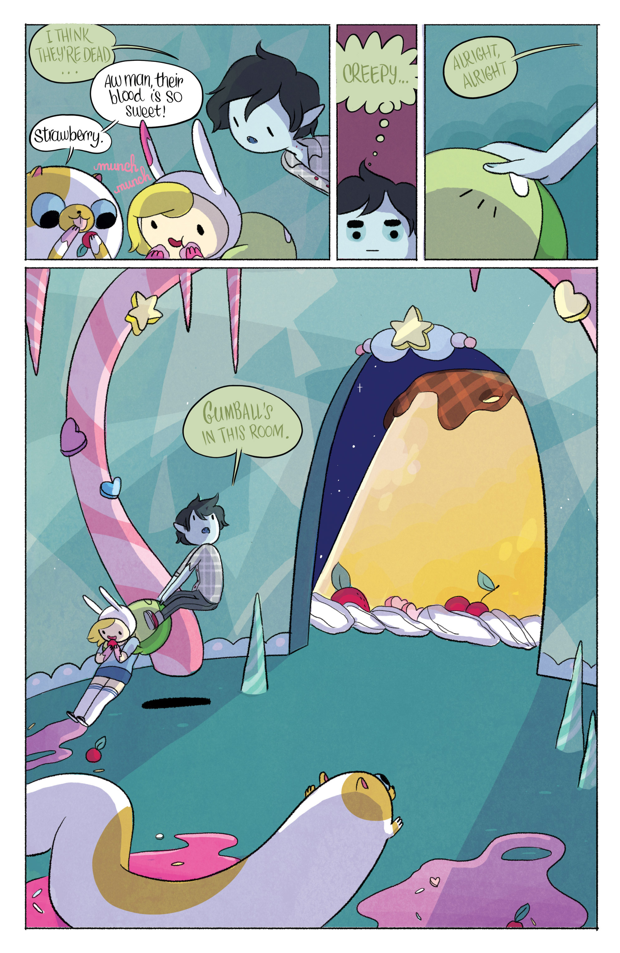 Read online Adventure Time with Fionna & Cake comic -  Issue #3 - 16