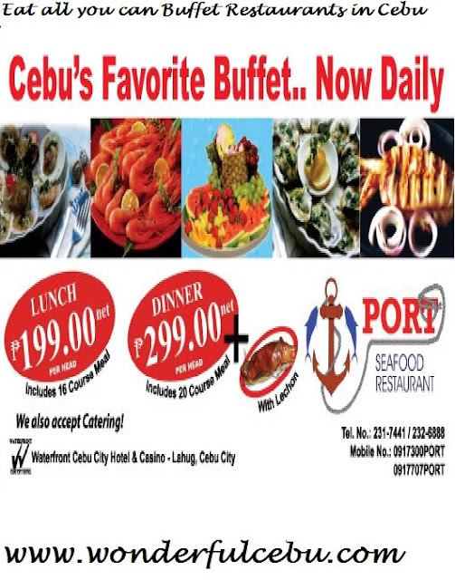 The Port Seafood Restaurant Eat all you can in Cebu