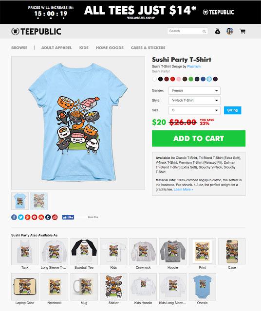 https://www.teepublic.com/t-shirt/1458786-sushi-party