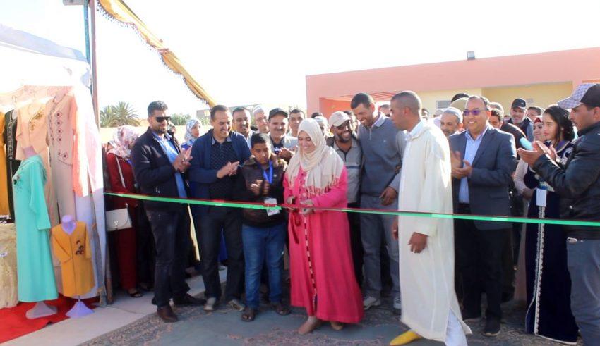 تارودانت: افتتاح مهرجان الصناعة التقليدية بحي بن خي في دورته الأولى بجماعة الكردان