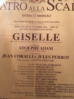 Giselle ieri sera alla Scala