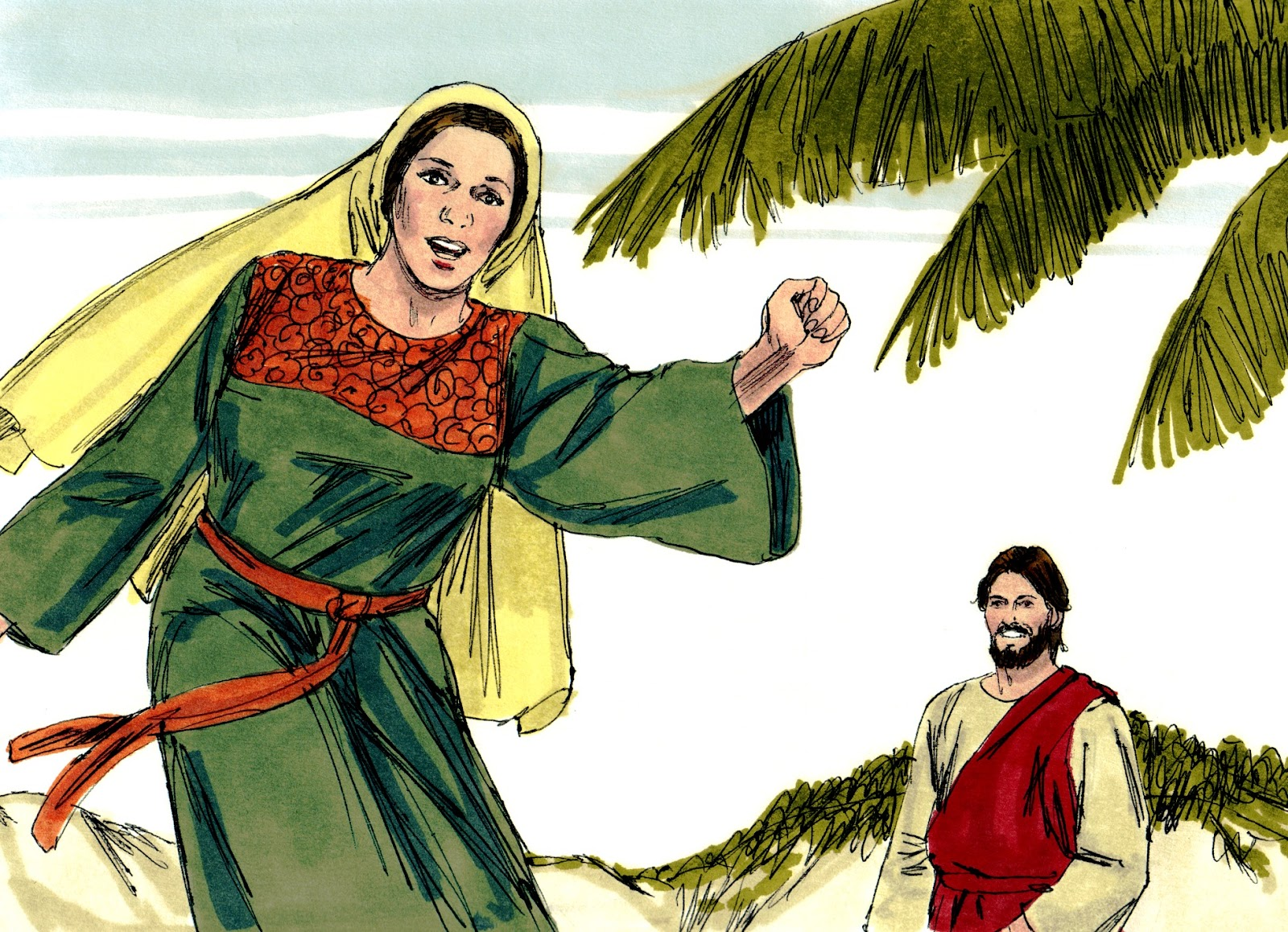 the samaritan woman Chapter 4 1  now when jesus learned that the pharisees had heard that jesus was making and baptizing more disciples than john 2 (although jesus himself was not baptizing, just his disciples),  3 he left judea and returned to galilee the samaritan woman 4 he had to  pass through samaria 5 so he came to a town of samaria called sychar,  near the plot of land that jacob had given to his.
