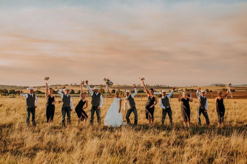 LOVE: KYLIE & MATTHEW | COUNTRY WEDDING KILLARNEY QLD