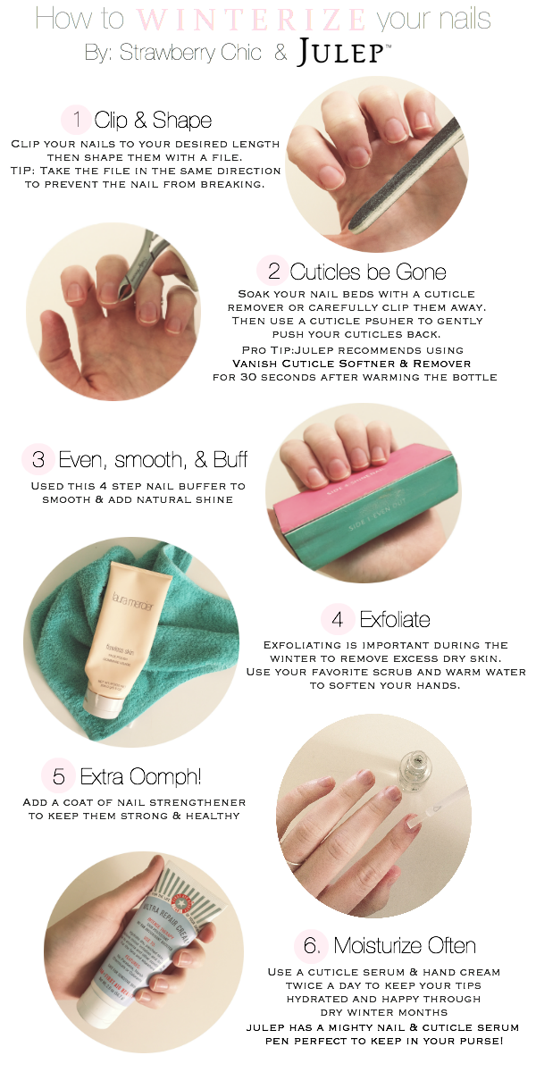 nail tutorial, julep, at home manicure