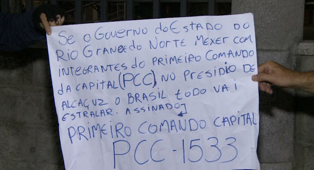 Marginais deixaram recado após ataque à Guarda Municipal de Fortaleza (CE)