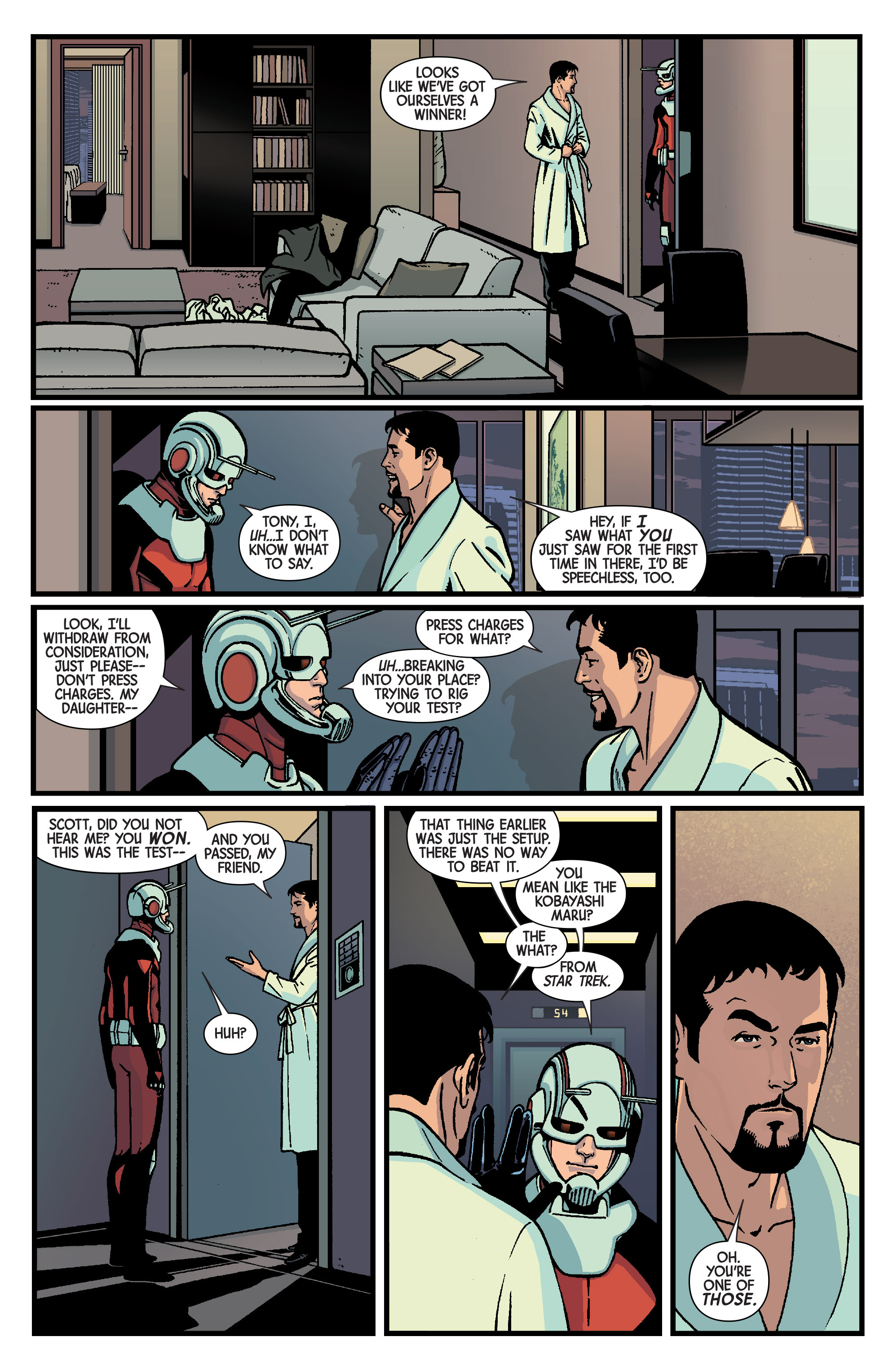 Read online Ant-Man comic -  Issue #1 - 25