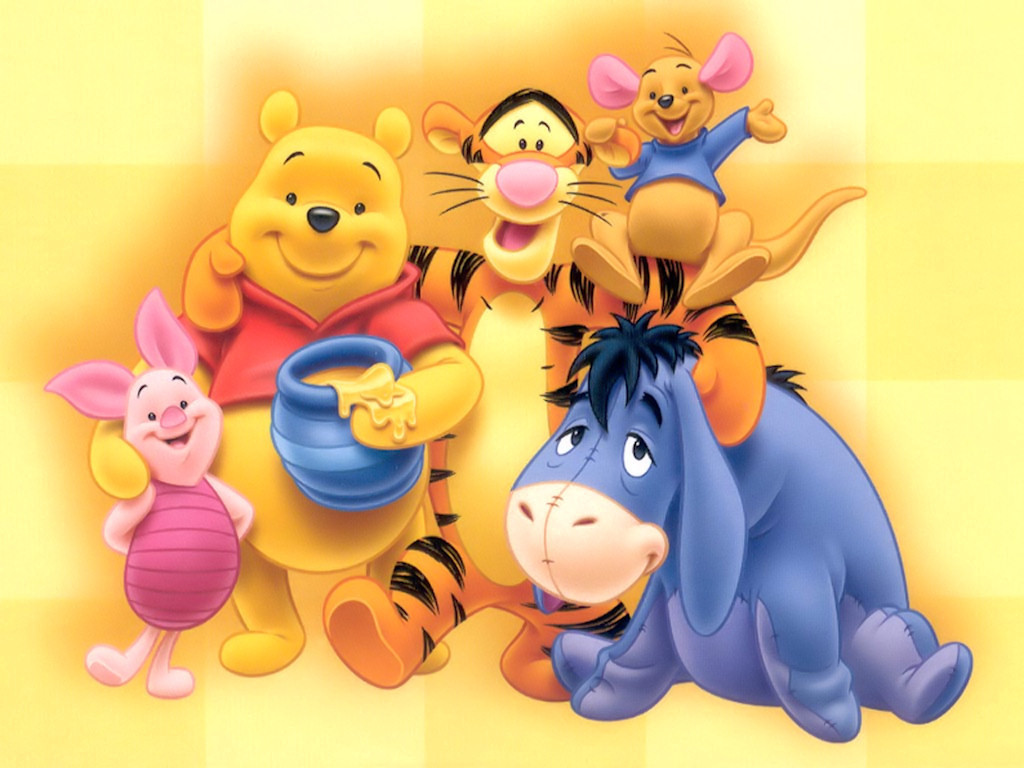 This is a picture of Dashing Pooh Bear Images