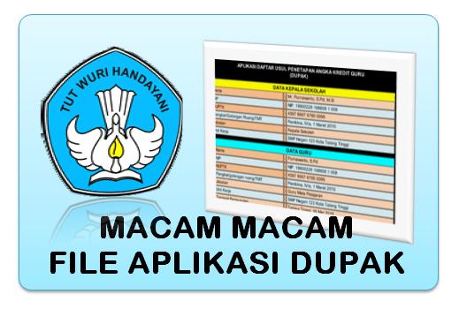 Download Kumpulan Aplikasi DUPAK Versi 2018/2019