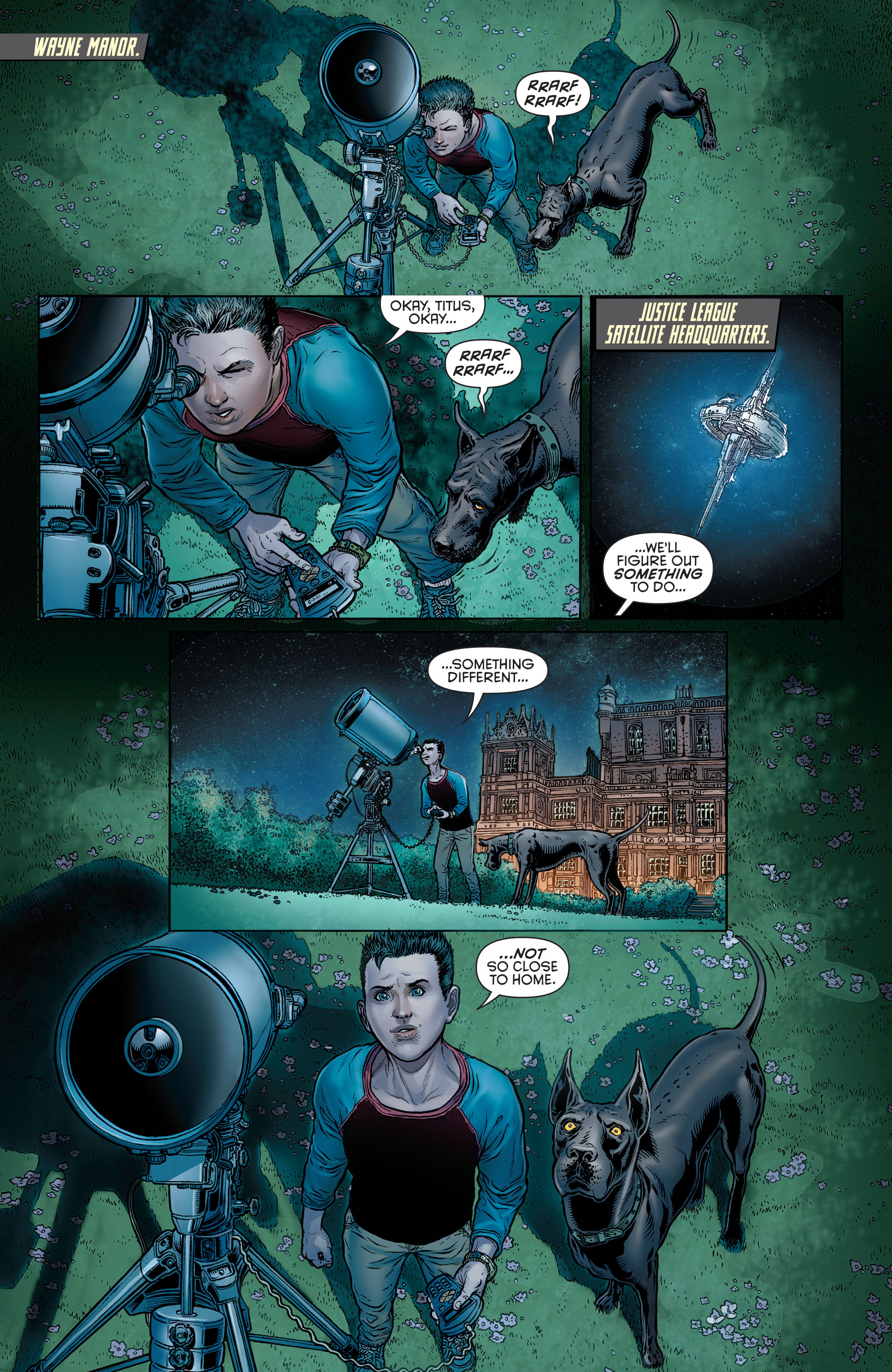 Read online Batman and Robin (2011) comic -  Issue # Annual 3 - 2