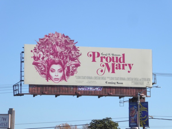 Proud Mary special extension cut-out billboard