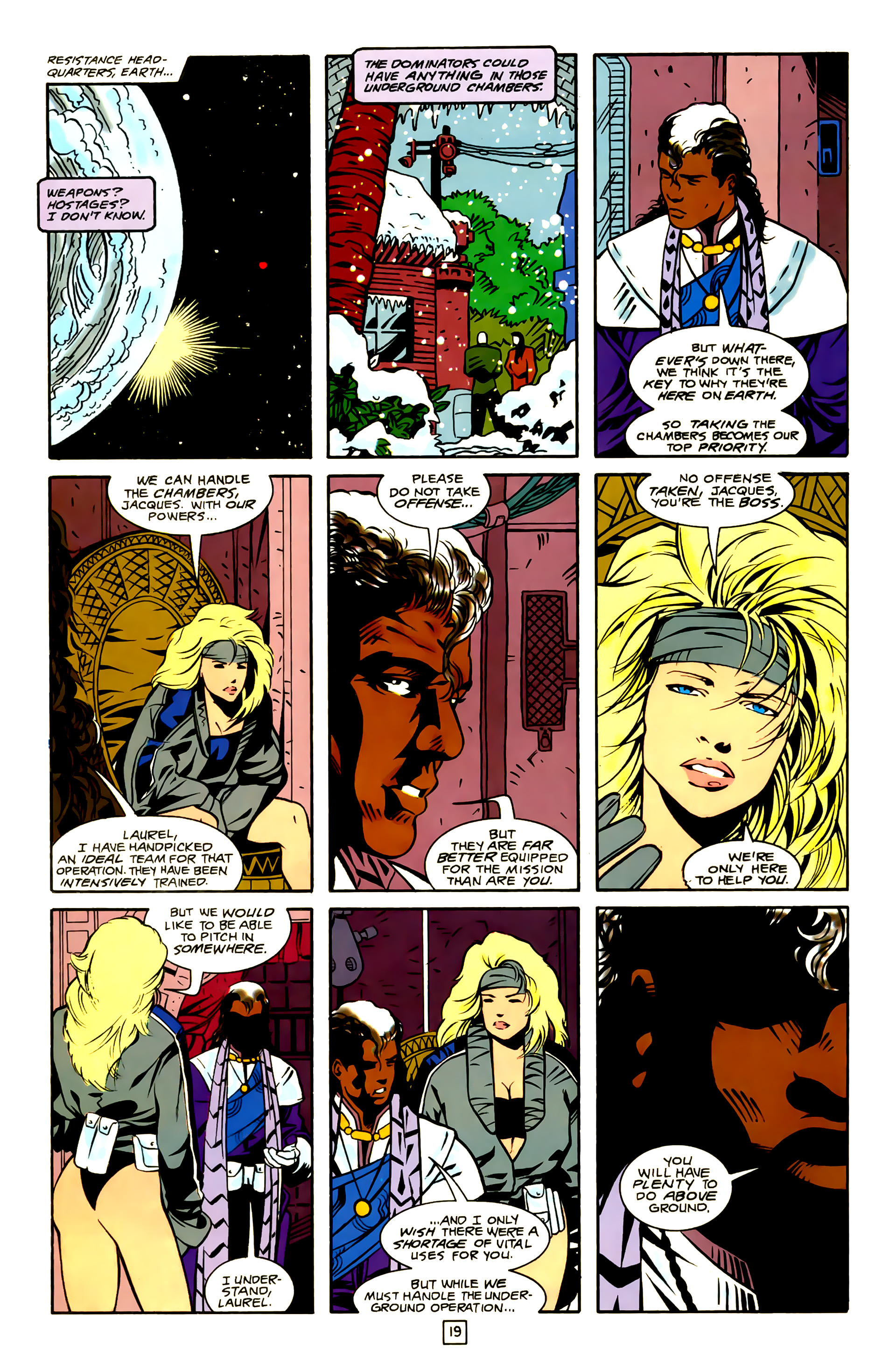 Legion of Super-Heroes (1989) 23 Page 19