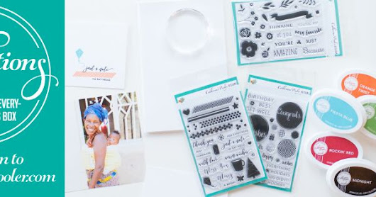 Foundations Box Blog Hop - Catherine Pooler Designs