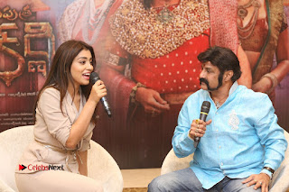 Shriya Saran Nandamuri Balakrishna at Gautamiputra Satakarni Team Press Meet Stills  0182.JPG