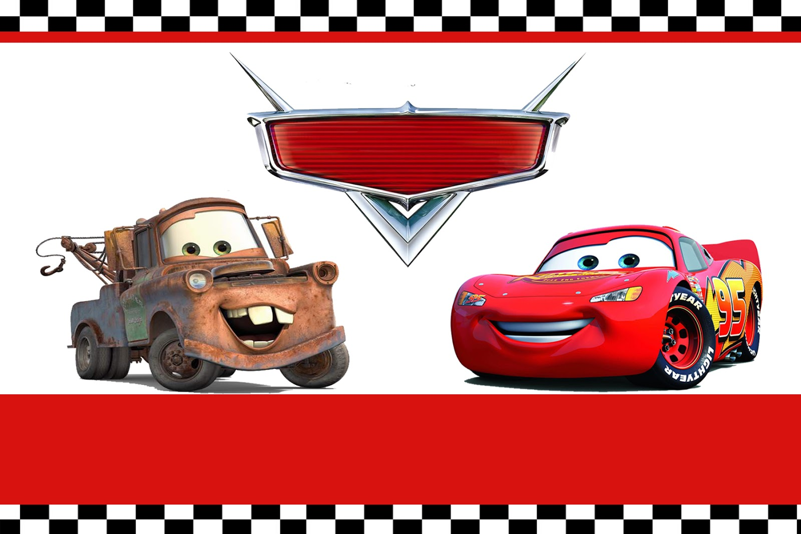 Moms Kidparty Link Disney Cars Party Invitation