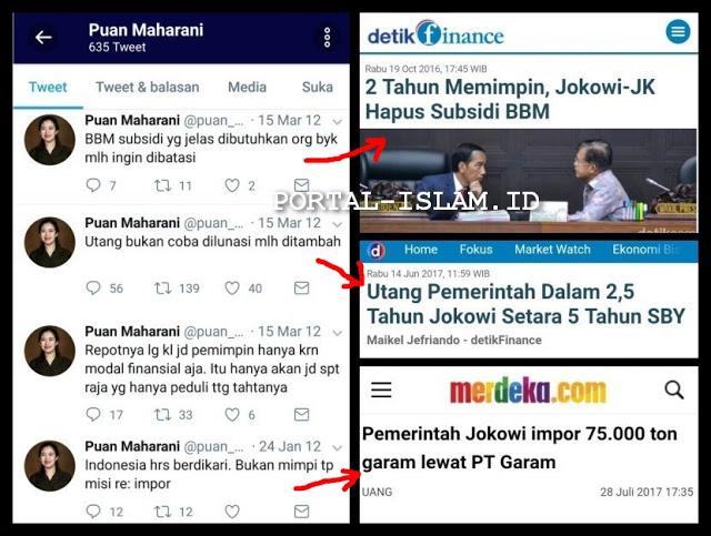Heboh! Twit-twit Jadul Puan Maharani Saat Jadi Oposisi, Asli Lucu Banget Dengan Realita Saat Berkuasa