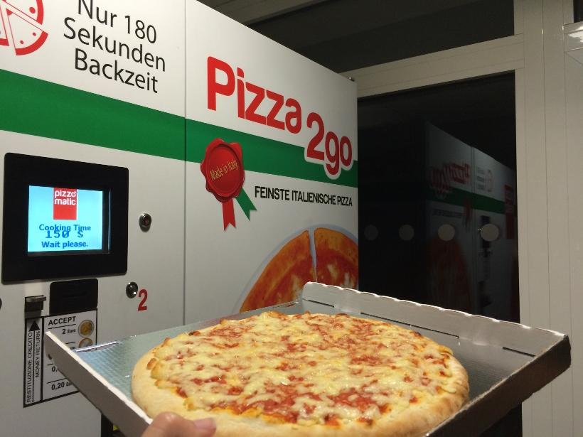 Vending machine pizza Munich