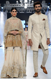 Sania Maskatiya Bridal Collection 2017 at PLBW Fashion Show