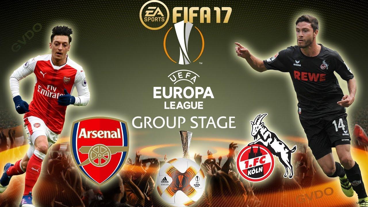 uefa europa league live update arsenal vs fc cologne 247 nigeria news update. Black Bedroom Furniture Sets. Home Design Ideas