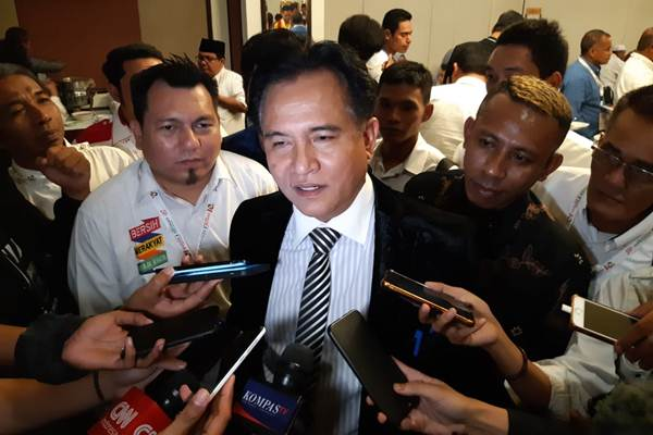 Yusril Bicara Rumor 'Jokowi Dipastikan Tak Menang Pilpres 2019'