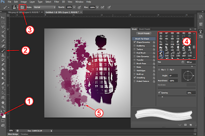 Tutorial Membuat Splatter Effect di Photoshop Part 2 20
