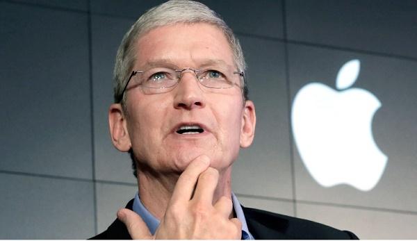 Le patron de la marque américaine Apple a gagné une fortune en 2017