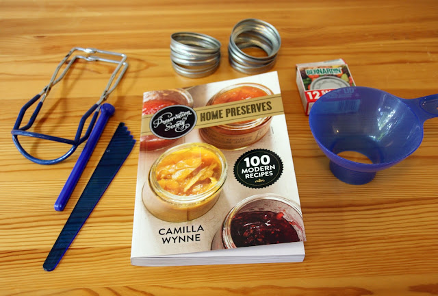 Preservation Society Home Preserves Canning Cookbook