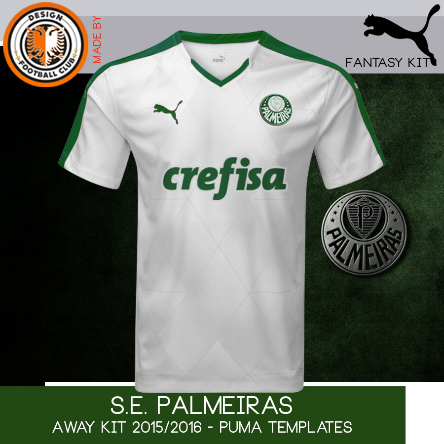 4eda0de9bb9a9 Design Football Club  S.E. Palmeiras - Puma - 2015 2016