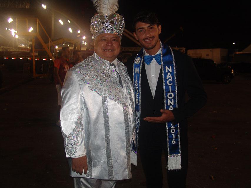 Robson Menezes ao lado do empresário Rey Neves. Foto: Trajano Fkeller