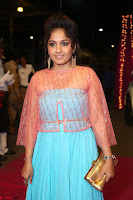 Madhvi Latha in Spicy Transparent Anarkali Dress at Zee Telugu Apsara Awards 2017 08.JPG