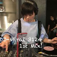 DJ Mirai-3124 1st Mix!のジャケット写真です。