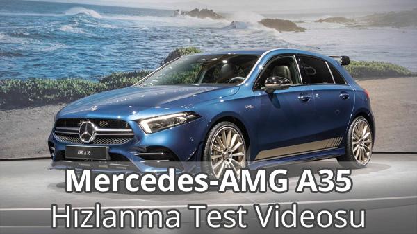Mercedes-AMG A35 Hızlanma Videosu İzle
