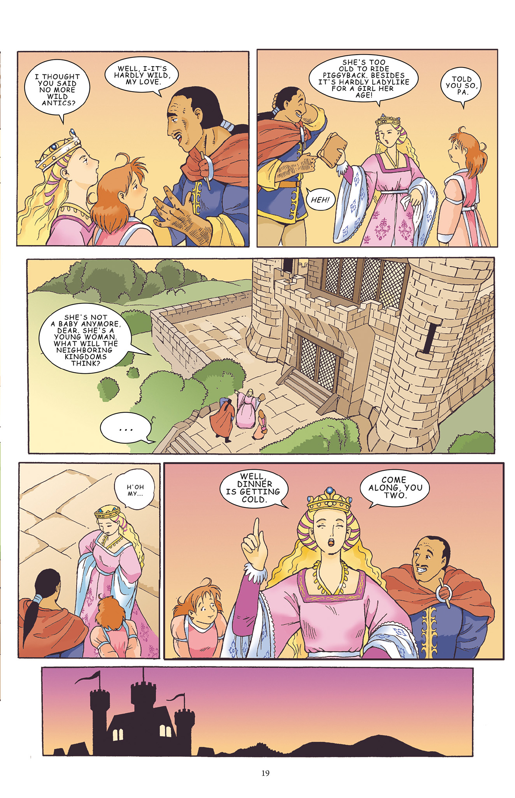 Read online Courageous Princess comic -  Issue # TPB 1 - 20