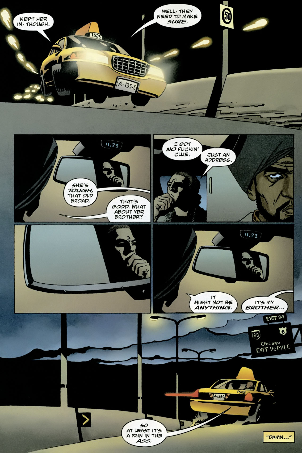 Read online 100 Bullets comic -  Issue #95 - 9