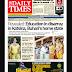 NAIJA NEWSPAPERS: TODAY'S THE DAILY TIMES NEWSPAPER HEADLINES [6 NOVEMBER, 2017].