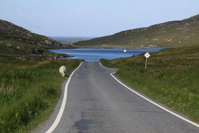 Hebrydy zewnętrzne Szkocja,