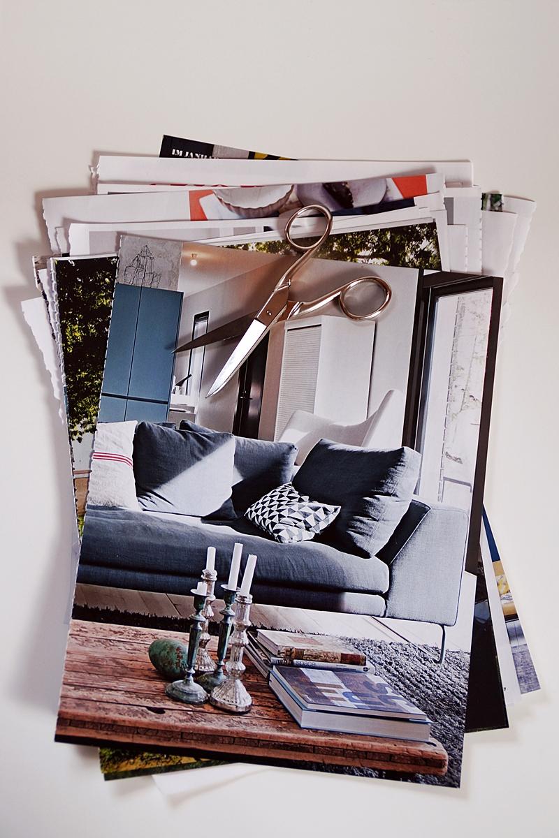 Ordnung und Minimalismus: Zeitschriften aussortieren und nur inspirierende Seiten behalten!
