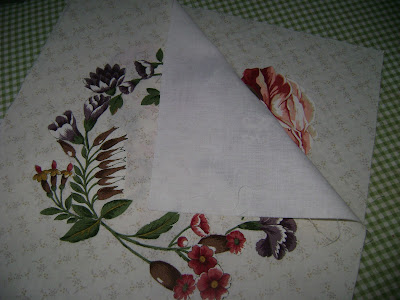 Sarah Morrell quilt; broderie perse