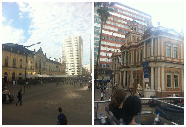 Mercado Público e Prefeitura de Porto Alegre