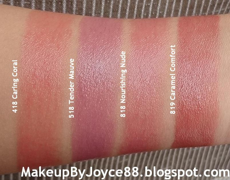 ❤ MakeupByJoyce ❤** !: Swatches: L'oreal Colour Riche Lip Balm Part 1