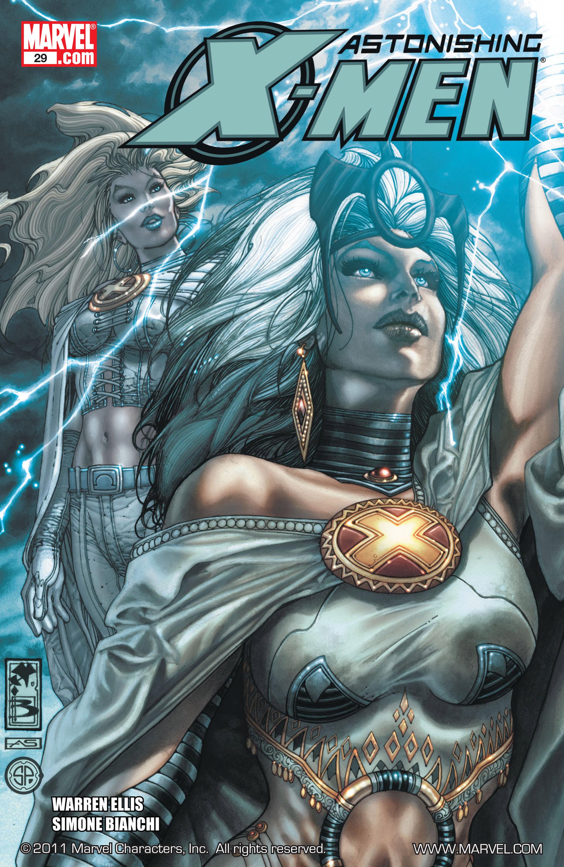 Read online Astonishing X-Men (2004) comic -  Issue #29 - 1