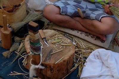 米澤ほうき工房 松本箒を作る道具