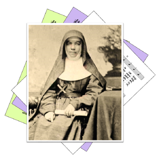Picture of Mary MacKillop over hymn suggestions - not spelled McKillop or McCillop