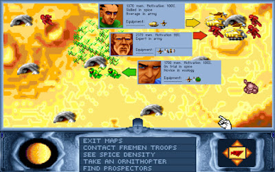 Dune 1 Game Screenshots 1992