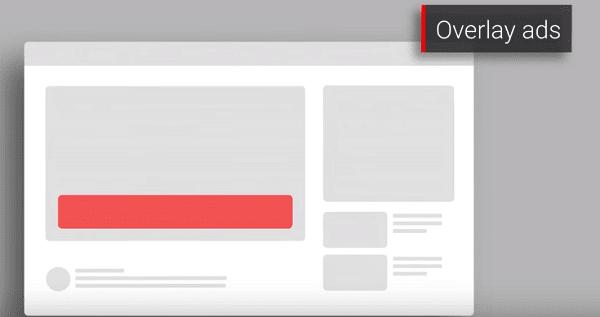 أنواع الإعلانات على يوتيوب