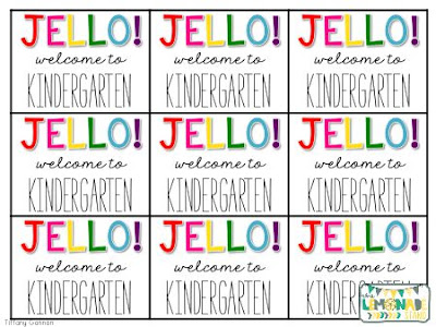 image about Welcome to Our Open House Printable called Kindergarten Night time Open up Area Freebies - The Lemonade Stand