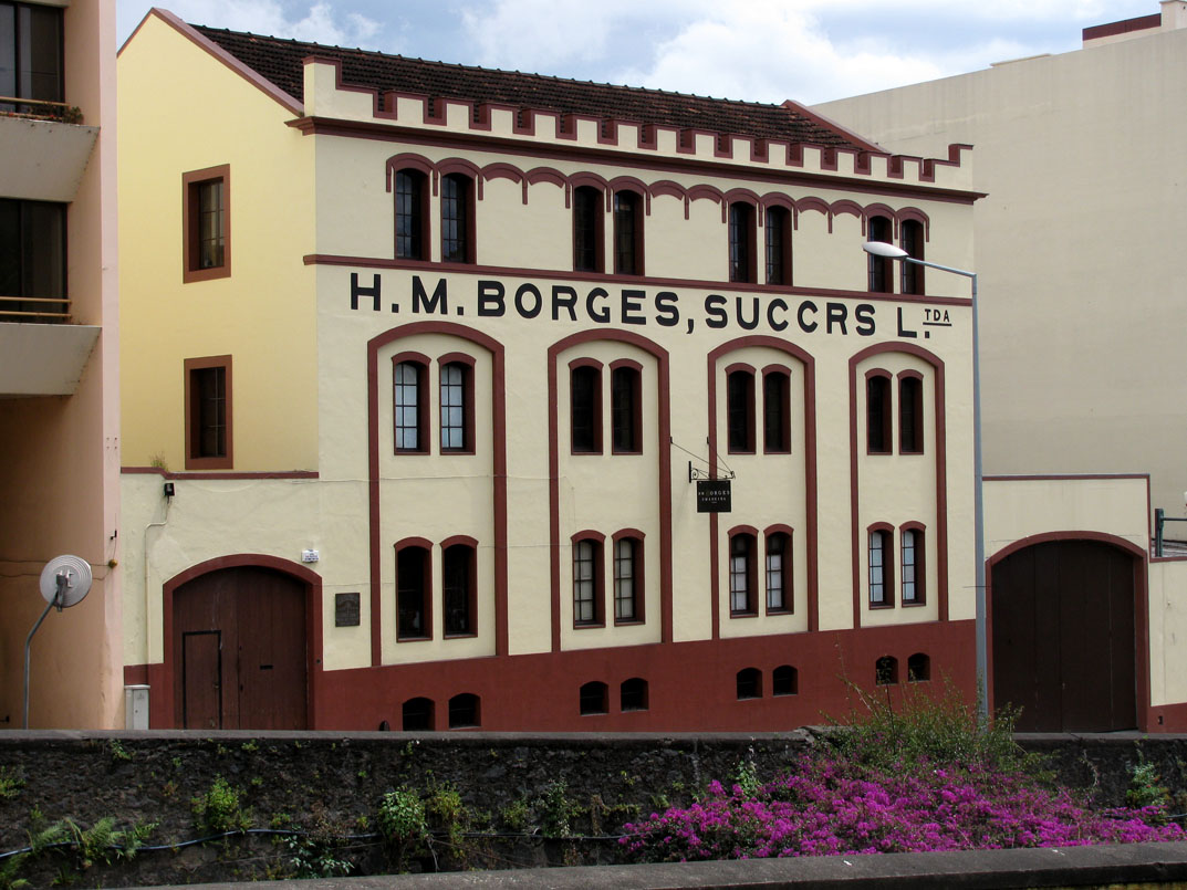 HM Borges, an old producer of Madeira wine