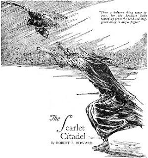 Jelenet A vörös citadella Conan novellából