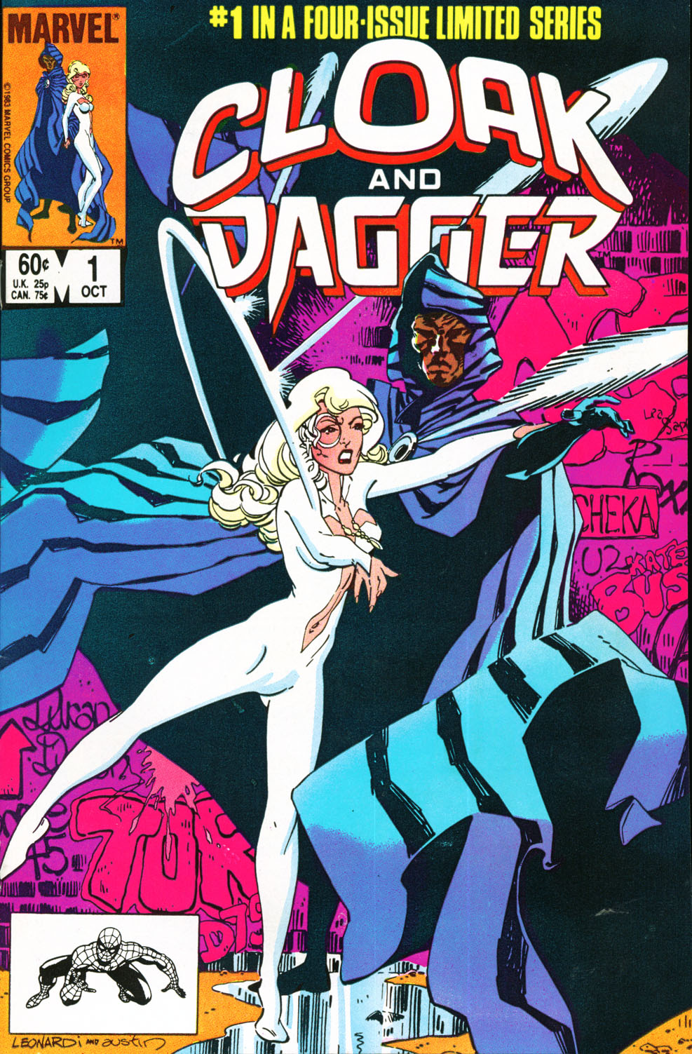 Cloak and Dagger (1983) 1 Page 1